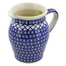 56 oz Stoneware Pitcher - Polmedia Polish Pottery H6003D