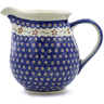 57 oz Stoneware Pitcher - Polmedia Polish Pottery H0767D