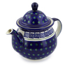 57 oz Stoneware Tea or Coffee Pot - Polmedia Polish Pottery H4827I