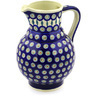59 oz Stoneware Pitcher - Polmedia Polish Pottery H4953E
