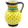 59 oz Stoneware Pitcher - Polmedia Polish Pottery H7317D