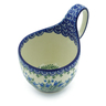 6-inch Stoneware Bowl with Handles - Polmedia Polish Pottery H2957E