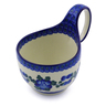 6-inch Stoneware Bowl with Handles - Polmedia Polish Pottery H3022C