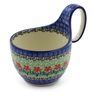 6-inch Stoneware Bowl with Handles - Polmedia Polish Pottery H3371I