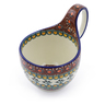 6-inch Stoneware Bowl with Handles - Polmedia Polish Pottery H3907I