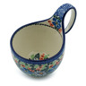 6-inch Stoneware Bowl with Handles - Polmedia Polish Pottery H3916I