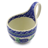 6-inch Stoneware Bowl with Handles - Polmedia Polish Pottery H3917I