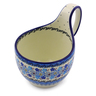 6-inch Stoneware Bowl with Handles - Polmedia Polish Pottery H3937I