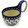 6-inch Stoneware Bowl with Handles - Polmedia Polish Pottery H4385D