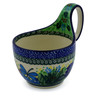 6-inch Stoneware Bowl with Handles - Polmedia Polish Pottery H4529F
