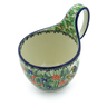 6-inch Stoneware Bowl with Handles - Polmedia Polish Pottery H5522I