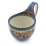 6-inch Stoneware Bowl with Handles - Polmedia Polish Pottery H5524I