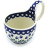 6-inch Stoneware Bowl with Handles - Polmedia Polish Pottery H7478G