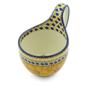 6-inch Stoneware Bowl with Handles - Polmedia Polish Pottery H8610I
