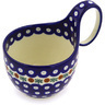 6-inch Stoneware Bowl with Handles - Polmedia Polish Pottery H8659F