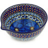 6-inch Stoneware Bowl with Spout - Polmedia Polish Pottery H5554G