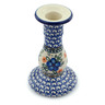 6-inch Stoneware Candle Holder - Polmedia Polish Pottery H0553I