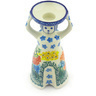6-inch Stoneware Candle Holder - Polmedia Polish Pottery H3240G