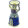6-inch Stoneware Candle Holder - Polmedia Polish Pottery H3546G