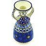 6-inch Stoneware Candle Holder - Polmedia Polish Pottery H3560G