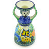 6-inch Stoneware Candle Holder - Polmedia Polish Pottery H3855G