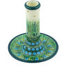 6-inch Stoneware Candle Holder - Polmedia Polish Pottery H4445G