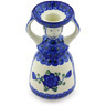 6-inch Stoneware Candle Holder - Polmedia Polish Pottery H5412G