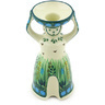 6-inch Stoneware Candle Holder - Polmedia Polish Pottery H5760G