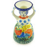 6-inch Stoneware Candle Holder - Polmedia Polish Pottery H6184G