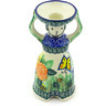 6-inch Stoneware Candle Holder - Polmedia Polish Pottery H6287G