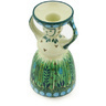 6-inch Stoneware Candle Holder - Polmedia Polish Pottery H6613G