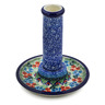 6-inch Stoneware Candle Holder - Polmedia Polish Pottery H8376J