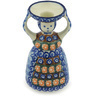 6-inch Stoneware Candle Holder - Polmedia Polish Pottery H8593G
