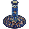6-inch Stoneware Candle Holder - Polmedia Polish Pottery H8977G
