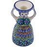 6-inch Stoneware Candle Holder - Polmedia Polish Pottery H9279G