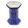6-inch Stoneware Candle Holder - Polmedia Polish Pottery H9301B