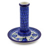 6-inch Stoneware Candle Holder - Polmedia Polish Pottery H9419G