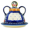 6-inch Stoneware Cheese Lady - Polmedia Polish Pottery H1202F