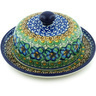 6-inch Stoneware Dish with Cover - Polmedia Polish Pottery H4424H