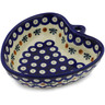 6-inch Stoneware Heart Shaped Bowl - Polmedia Polish Pottery H0723H