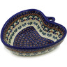 6-inch Stoneware Heart Shaped Bowl - Polmedia Polish Pottery H5931K