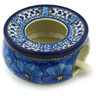6-inch Stoneware Heater with Candle Holder - Polmedia Polish Pottery H2473H