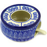 6-inch Stoneware Heater with Candle Holder - Polmedia Polish Pottery H7979D