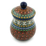 6-inch Stoneware Jar with Lid - Polmedia Polish Pottery H0030B