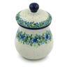 6-inch Stoneware Jar with Lid - Polmedia Polish Pottery H0047B