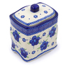 6-inch Stoneware Jar with Lid - Polmedia Polish Pottery H0369C