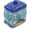 6-inch Stoneware Jar with Lid - Polmedia Polish Pottery H0798H