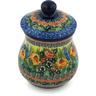 6-inch Stoneware Jar with Lid - Polmedia Polish Pottery H2234H