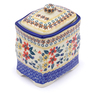 6-inch Stoneware Jar with Lid - Polmedia Polish Pottery H2641J