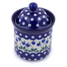 6-inch Stoneware Jar with Lid - Polmedia Polish Pottery H2846J